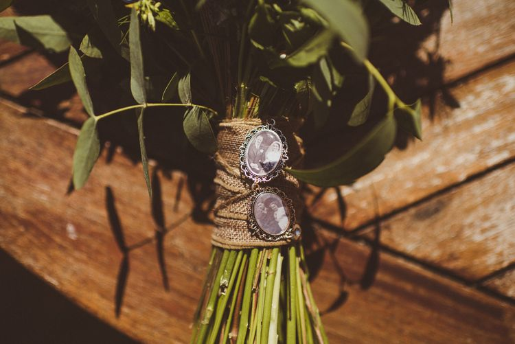 Picture Pendants on the Bouquet | PapaKåta Tipi at Angrove Park North Yorkshire | Matt Penberthy Photography