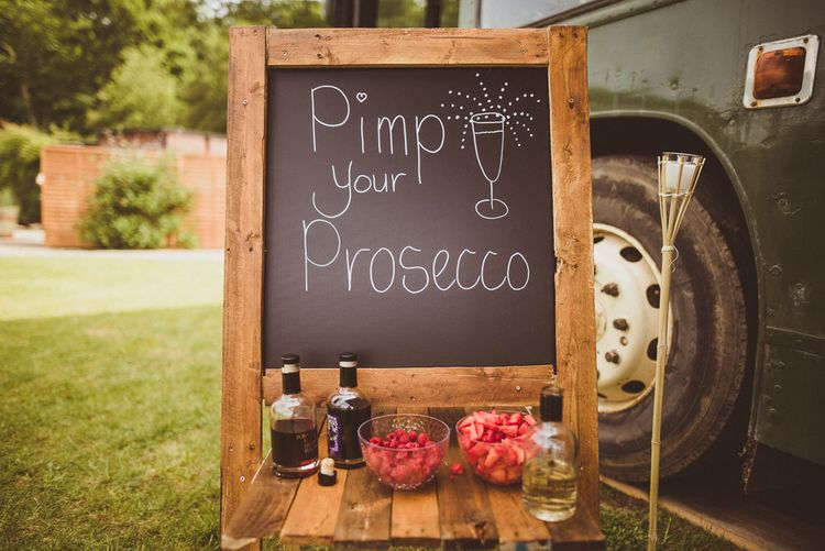 Pimp Your Prosecco | PapaKåta Tipi at Angrove Park North Yorkshire | Matt Penberthy Photography