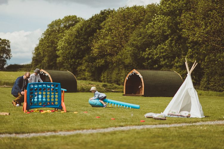 Garden Games | PapaKåta Tipi at Angrove Park North Yorkshire | Matt Penberthy Photography
