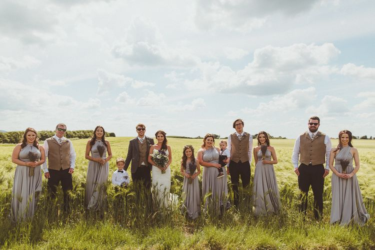 Wedding Party | PapaKåta Tipi at Angrove Park North Yorkshire | Matt Penberthy Photography