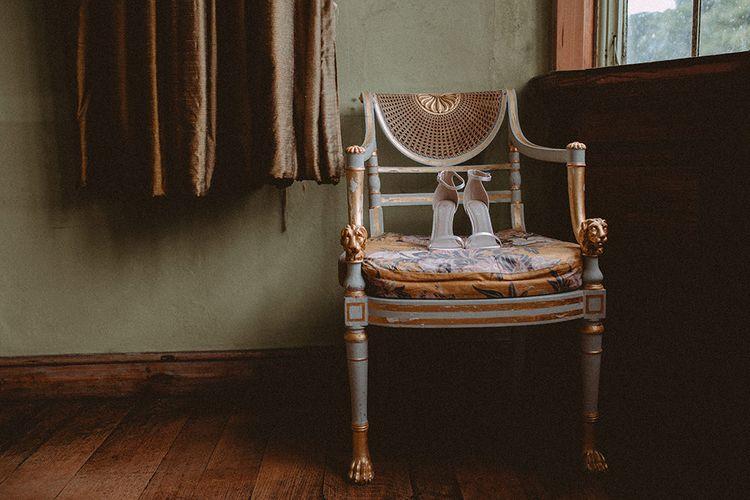 Elegant Bridal Shoes // Image By Carla Blain Photography