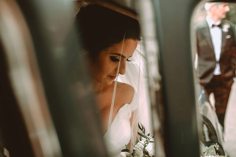 Beautiful Bride In Essence Of Australia Gown // Image By Carla Blain Photography