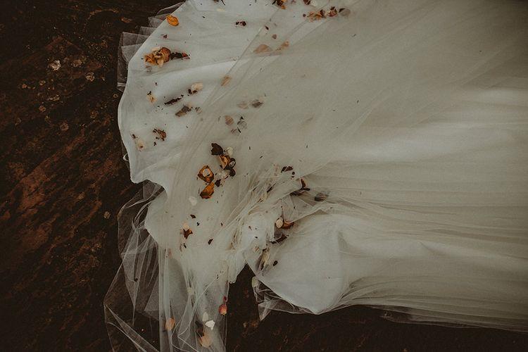 Dried Flower Confetti // Image By Carla Blain