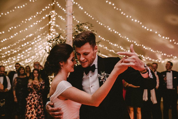 First Dance At Wedding // Image By Carla Blain