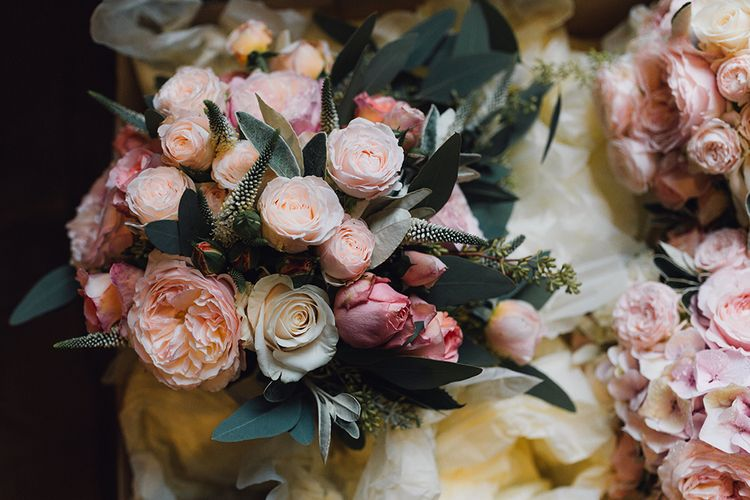 Pink Wedding Flowers by Flowers by Eve