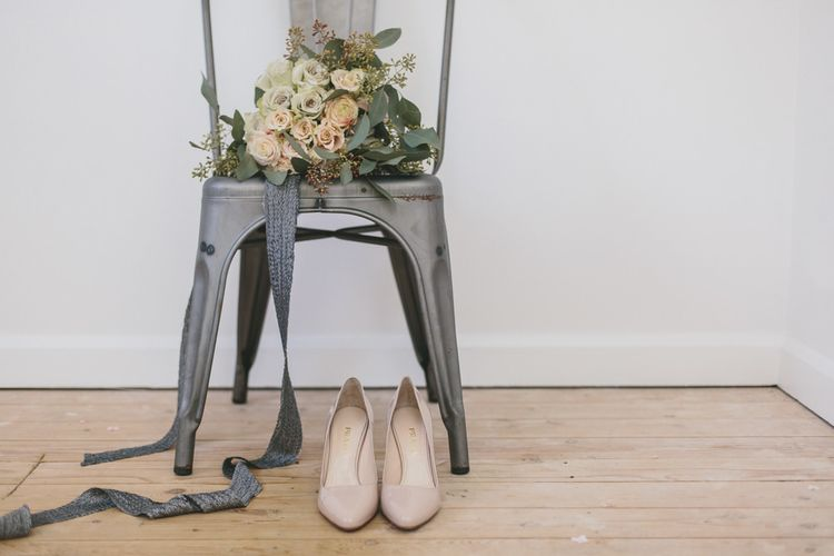 Nude Bridal Shoes at Bicester Village