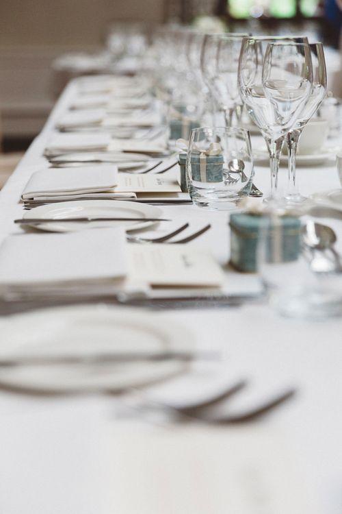 Elegant Wedding Table Scape