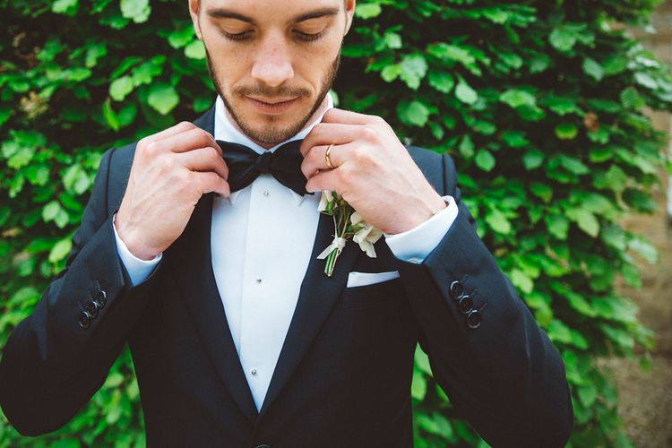 Groom In Givenchy