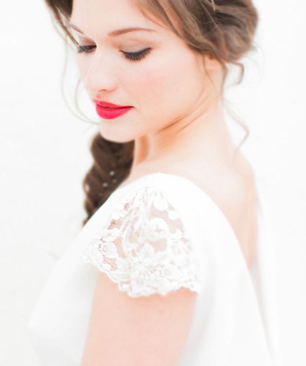 Bride With Red Lip