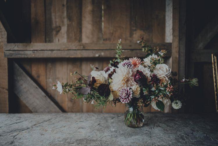 Autumnal Floral Arrangement by The Garden Gate Flower Company