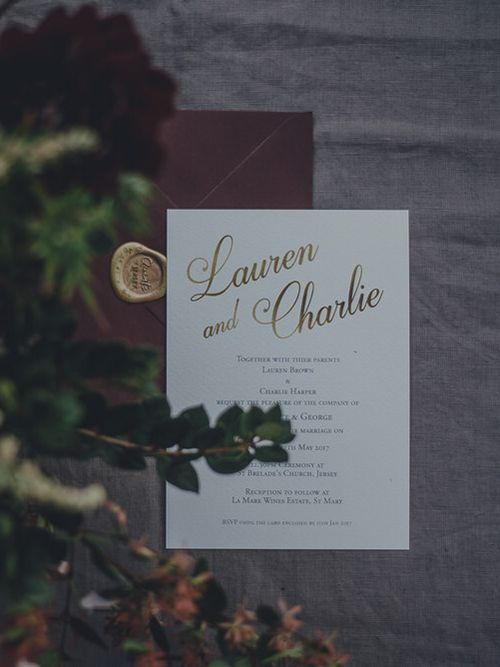 Wedding Stationery by Quints Of Jersey