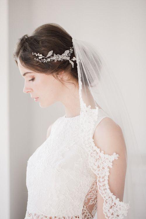Grace wedding hair vine