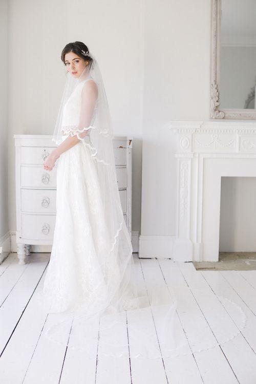 Ada lace wedding veil