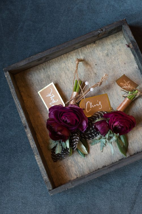 Autumn Wedding With Berry Tones & Amazing Florals At Kirknewton Stables Photography By Julie Tinton