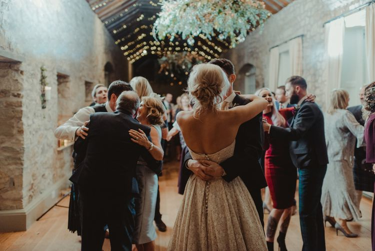 Autumn Wedding With Berry Tones & Amazing Florals At Kirknewton Stables Photography by Marc Millar Photography