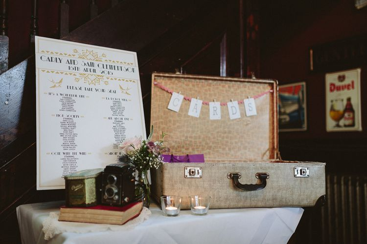 Vintage Inspired Decor For A Wedding At The Peasant Clerkenwell