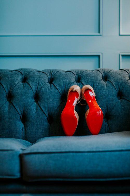Nude Christian Louboutin Pumps | Benjamin Stuart Photography
