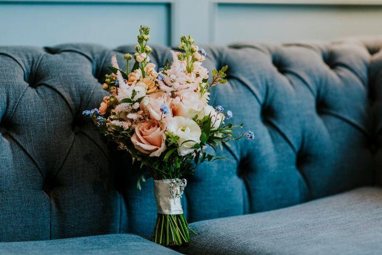 Blush Pink Wedding Bouquet | Benjamin Stuart Photography