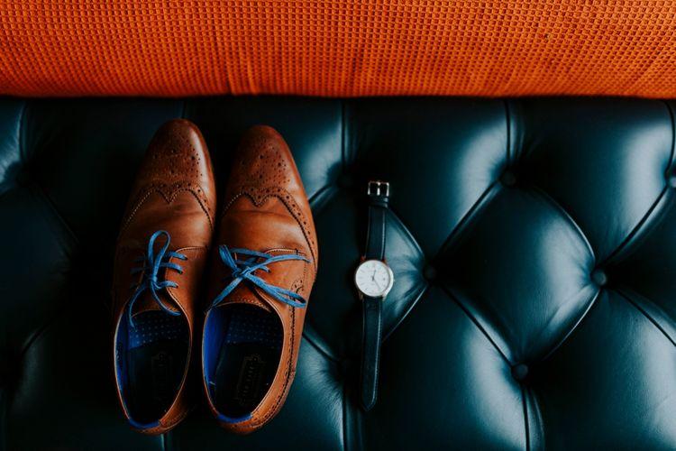 Grooms Ted Baker Shoes | Benjamin Stuart Photography