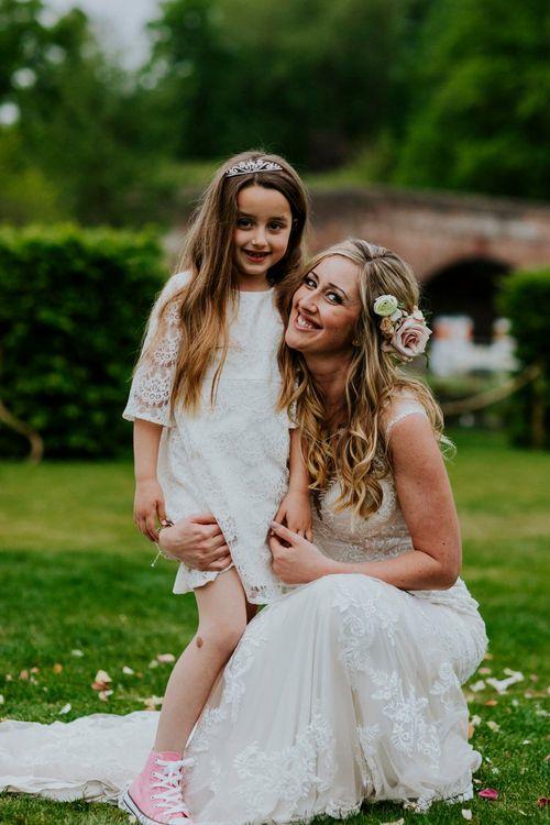 Flower Girl Daughter | Coppa Club, Sonning Wedding | Benjamin Stuart Photography