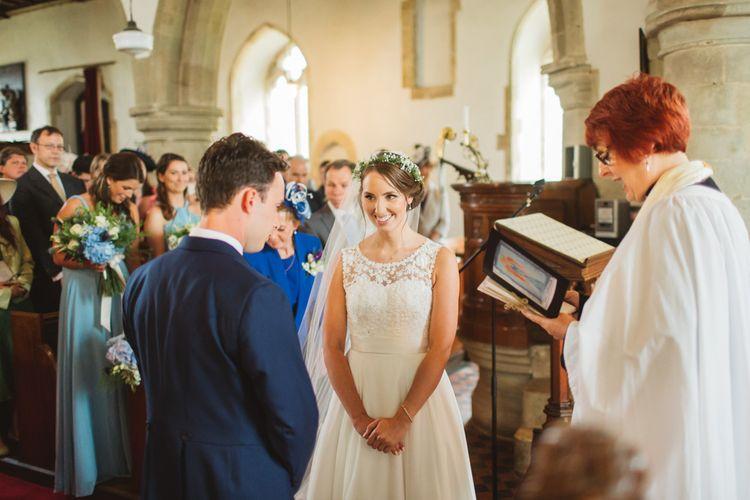 Bride & Groom Church Ceremony