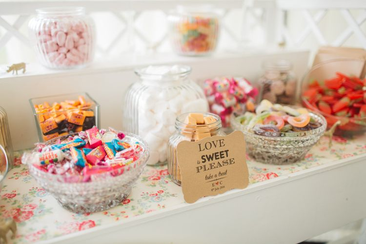 Love is Sweet so Take a Treat Stall