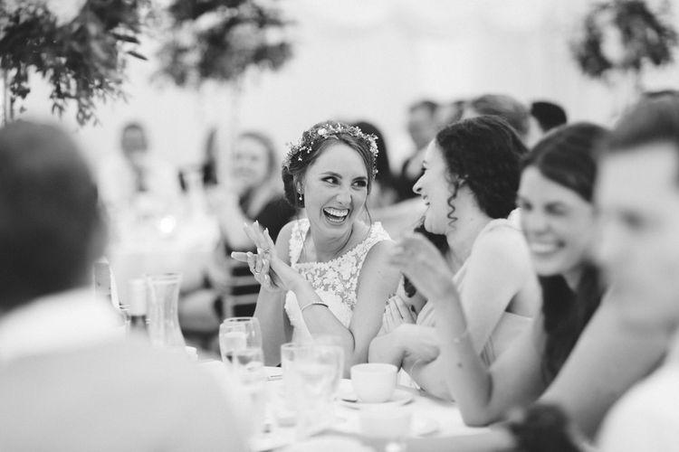 Marquee Wedding Reception Speeches
