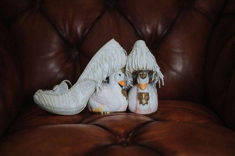 Irregular Choice Wedding Shoes   White & Green Outdoor Wedding at The Red Barn, Kent   Olegs Samsonovs Photography