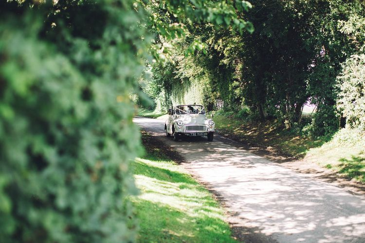 Wedding Car   White & Green Outdoor Wedding at The Red Barn, Kent   Olegs Samsonovs Photography