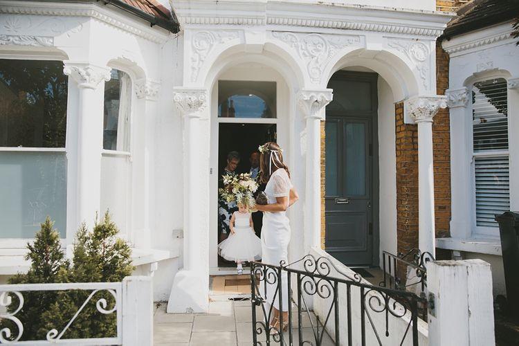 Bride In Charlie Brear Wedding Separates