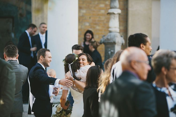 Wedding Reception Drinks Outside