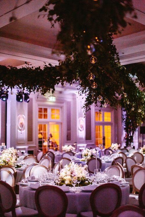 Wedding Reception Foliage