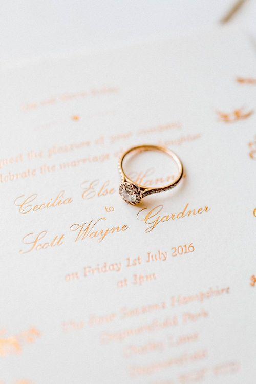 Gorgeous Vintage Esque Engagement Ring