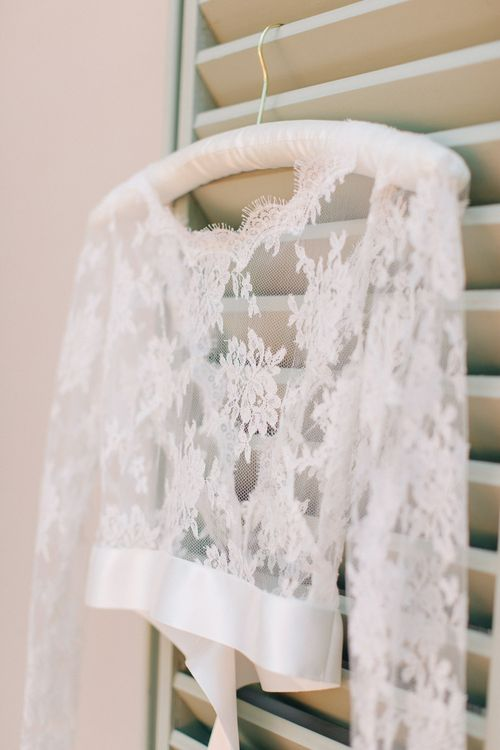 Lace Bridal Overlay