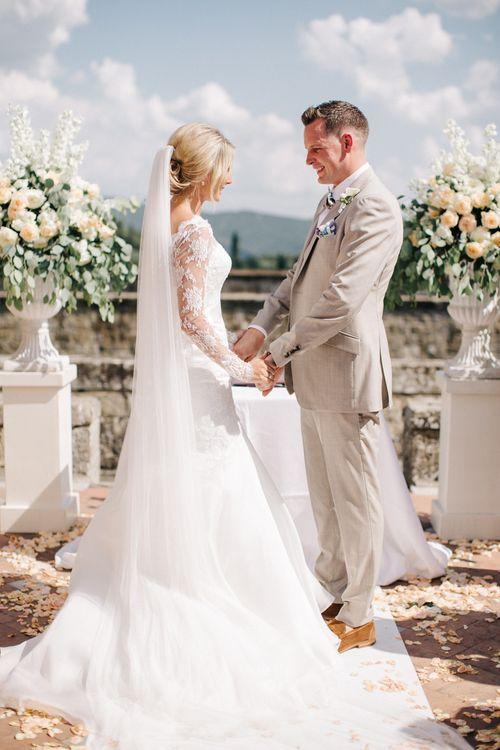 Outdoor Wedding Ceremony   Wedding Vows