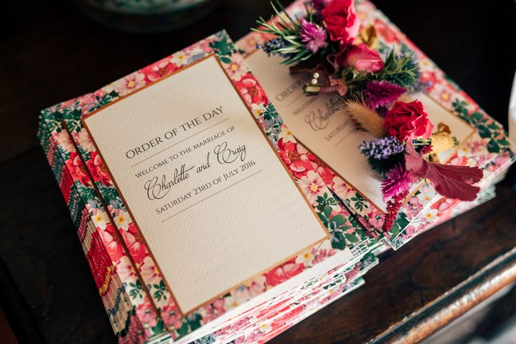 Floral Wedding Stationery by Quints Of Jersey