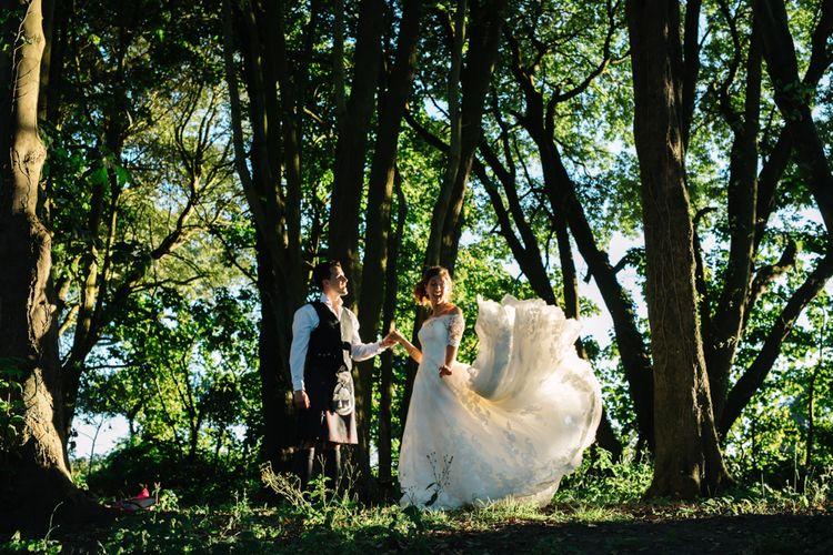 Beautiful Bride & Groom Portraits by M_Weddings
