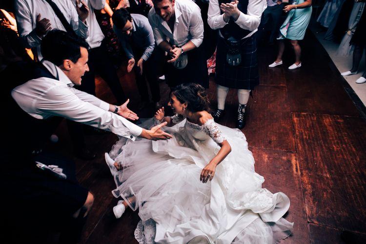 Wedding Reception With Ceilidh