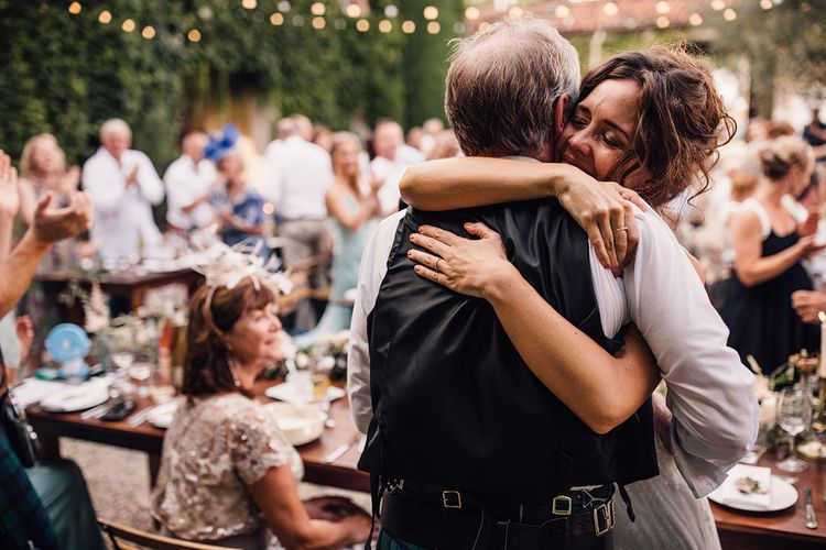 Wedding Speeches | Outdoor Destination Wedding at Château De Malliac Planned by Country Weddings in France | Styling by The Hand-Painted Bride | Samuel Docker Photography | Marriage in Motion Films