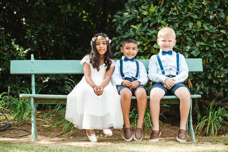 Flower Girl in Monsoon & Page Boys in Zara   Planned by Rachel Rose Weddings   Radka Horvath Photography