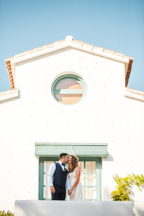 Bride in Sottero & Midgley Bridal Gown   Groom n Herr von eden Tuxed, Bow Tie & Waistcoat   Planned by Rachel Rose Weddings   Radka Horvath Photography