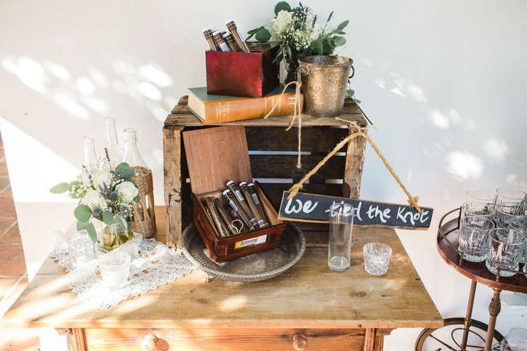 Rustic Cigar & Brandy Station   Planned by Rachel Rose Weddings   Radka Horvath Photography