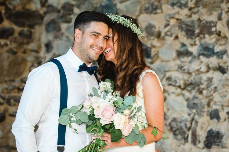 Bride in Sottero & Midgley Bridal Gown   Groom n Herr von eden Tuxed, Bow Tie & Braces   Planned by Rachel Rose Weddings   Radka Horvath Photography