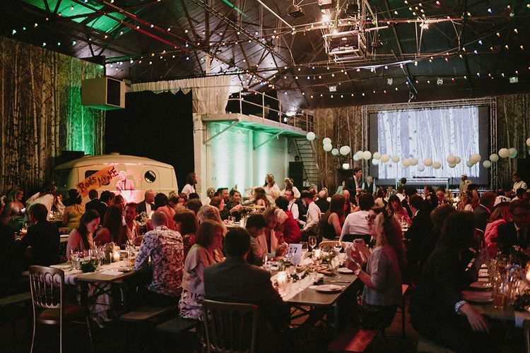 Industrial Wedding At Camp & Furnace