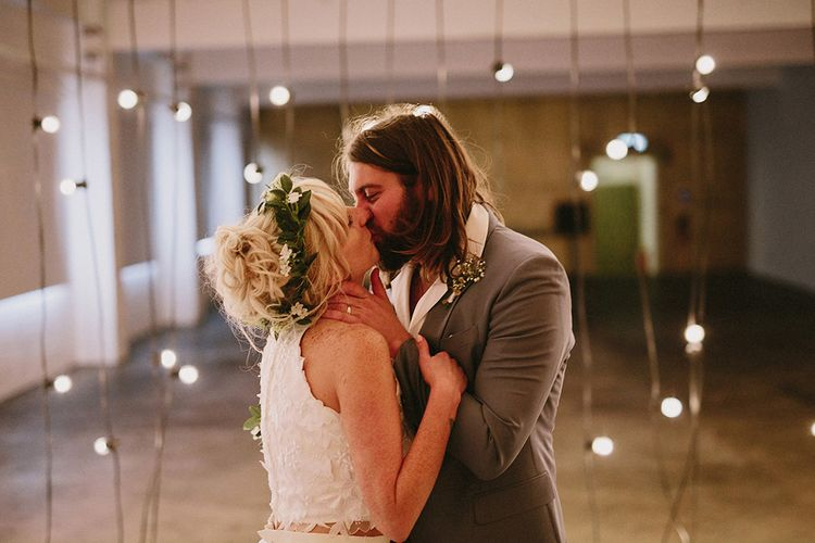 Beautiful Bride & Groom At Camp & Furnace Liverpool