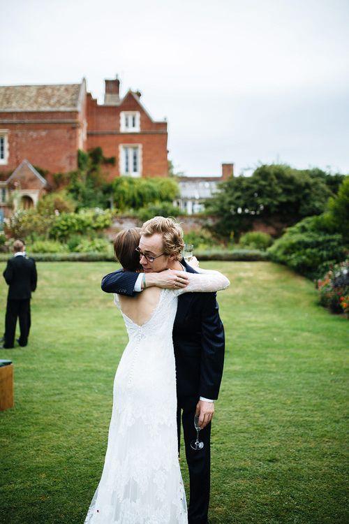 Bride in Sottero Midgley Gown | Childerley Hall Wedding | Tawny Photo