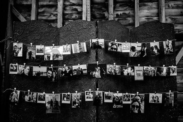 Polaroid Pictures | Wedding Decor | Tawny Photo
