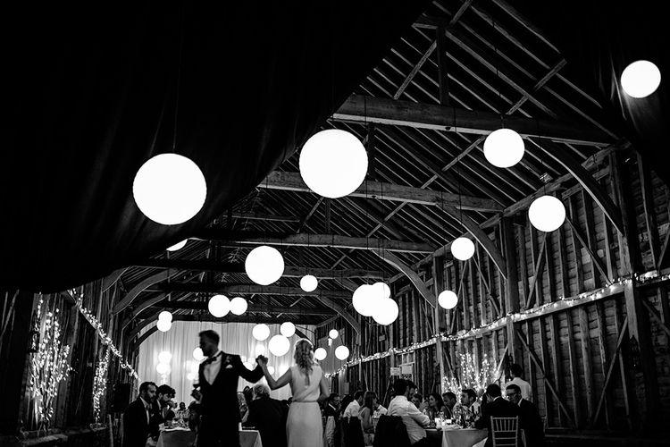 Hanging Lanterns at Childerley Hall Cambridge | Tawny Photo