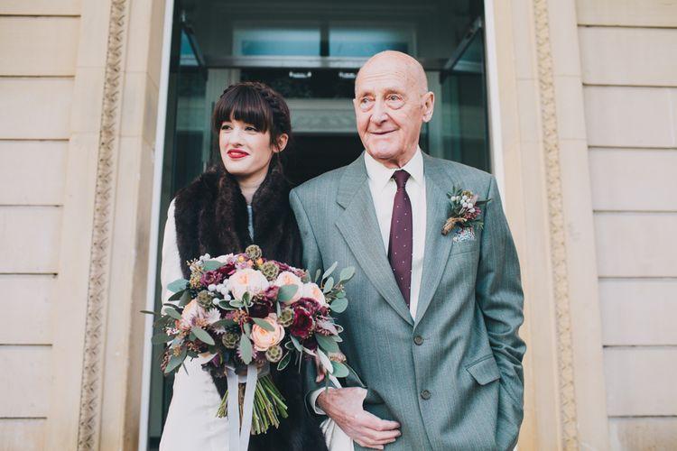 Bride & Granddad