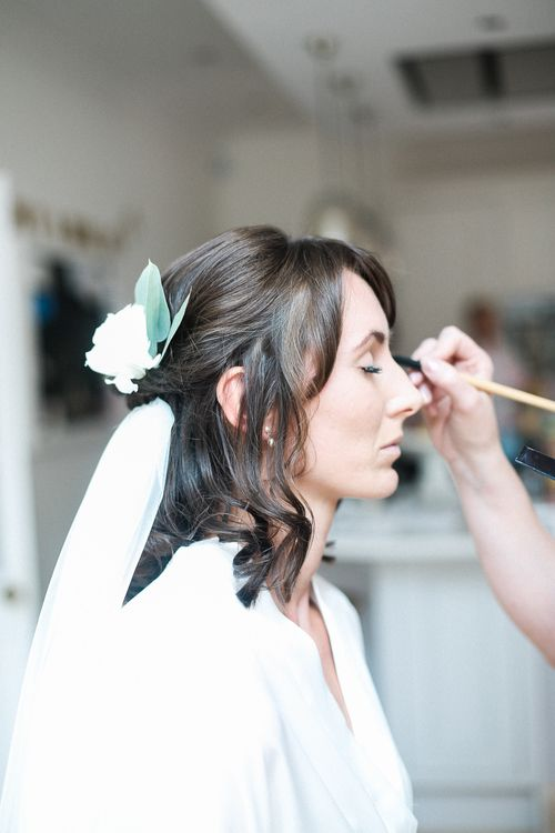 Bridal Make Up | Elegant Hampton Manor Wedding with Floral Decor | Xander & Thea Fine Art Wedding Photography